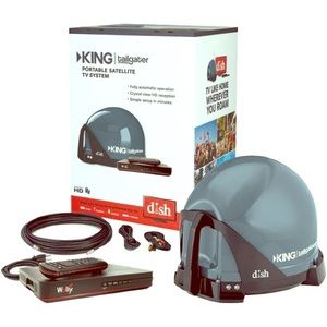 Other - KING TAILGATER BUNDLE WITH DISH HD RECEIVER